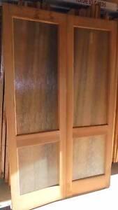 double cedar doors Canterbury Canterbury Area Preview