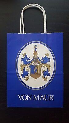 Vintage Von Maur Paper Shopping Bag