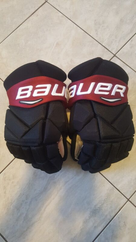 """Bauer 1x pro stock hockey gloves, 14"""" great condition"""