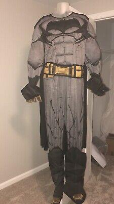 Mens Muscle Batman Costume XL