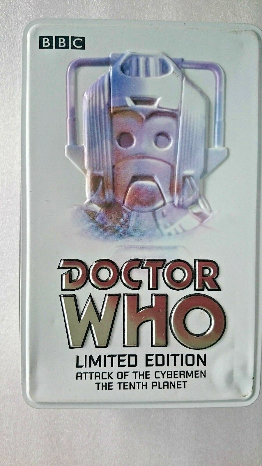 Doctor Who Cybermen  Ltd Edition Tin