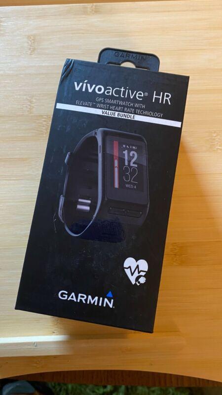 Garmin Vivoactive HR Heart Rate Monitor,Regular Size Sport Watch -  Black