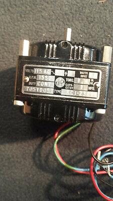 Vintage Bodine Electric 115v 1550-rpm Small Instrument Motor Kci-23a1 New