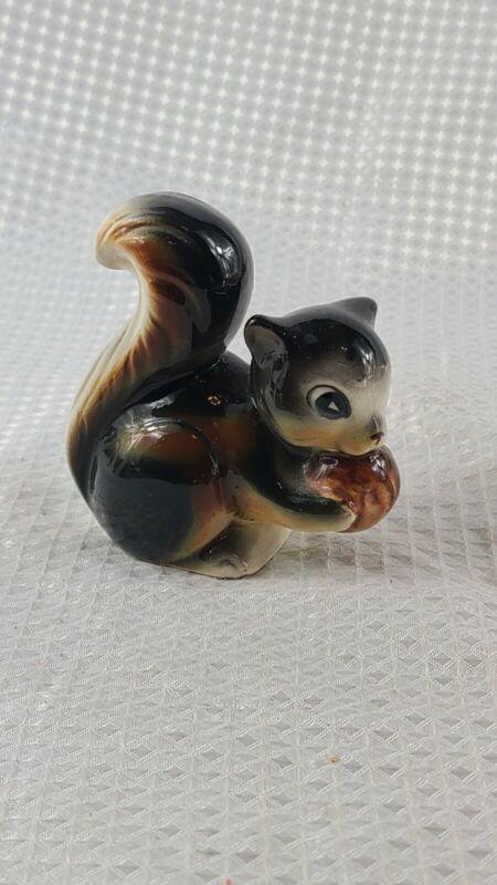 """Vintage Occupied Japan Squirrel Hilding Nut Figure 3 1/2"""""""