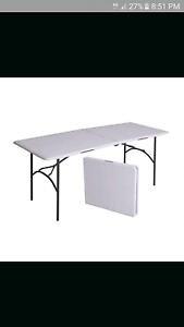 FOLDING TRESTLE TABLES FOR HIRE  $5EA Gosnells Gosnells Area Preview
