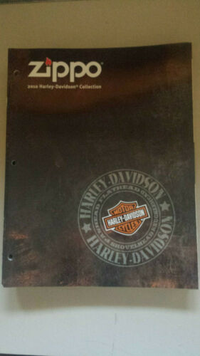 20 Count Lot Zippo Lighter 2010 Harley Davidson Collection Item Price Catalogs