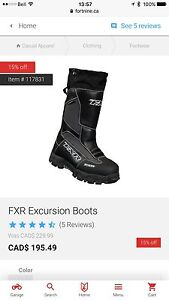 FXR Excursion Winter Boot