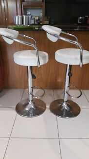 White Bar Stools $20 each Turrella Rockdale Area Preview