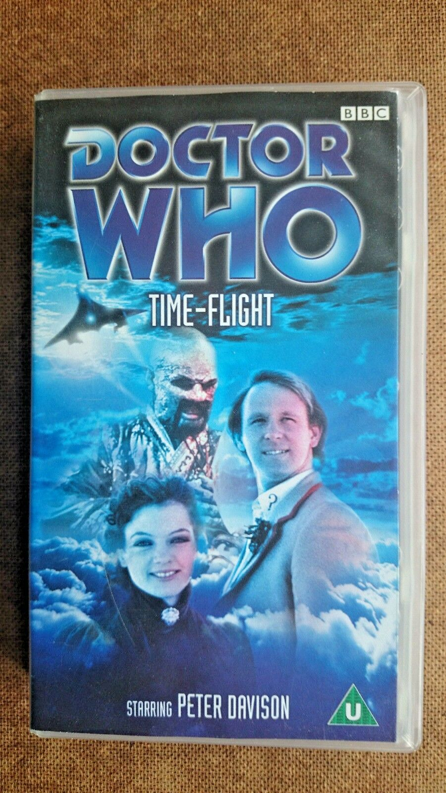 Doctor Who - Time Flight (VHS, 2000) - Peter Davidson