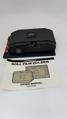 Horseman Roll Film Holder 6XEP-120 TYPE 612 for 4x5 (22461)