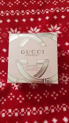 Gucci Bamboo Eau De Toilette spray 75 ml Sealed 100 % Genuine !