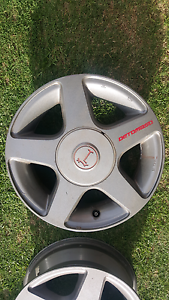 "Genuine set Detomaso 14"" 4x100 5 spoke jdm wheels rims Castle Hill The Hills District Preview"