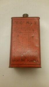 Rare antique sporting powder tin