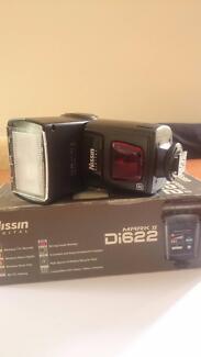 Niisin speedlight flash mark ii Di622 for nikon mount