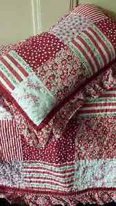 Baby Cot QUILT by Linen & Things - vintage look Bendigo Bendigo City Preview