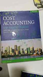 Cost Accounting A Managerial Emphasis Richlands Brisbane South West Preview