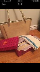 Brand New Authentic Tory Burch bag and shoe size 10.5 Cambridge Kitchener Area image 5