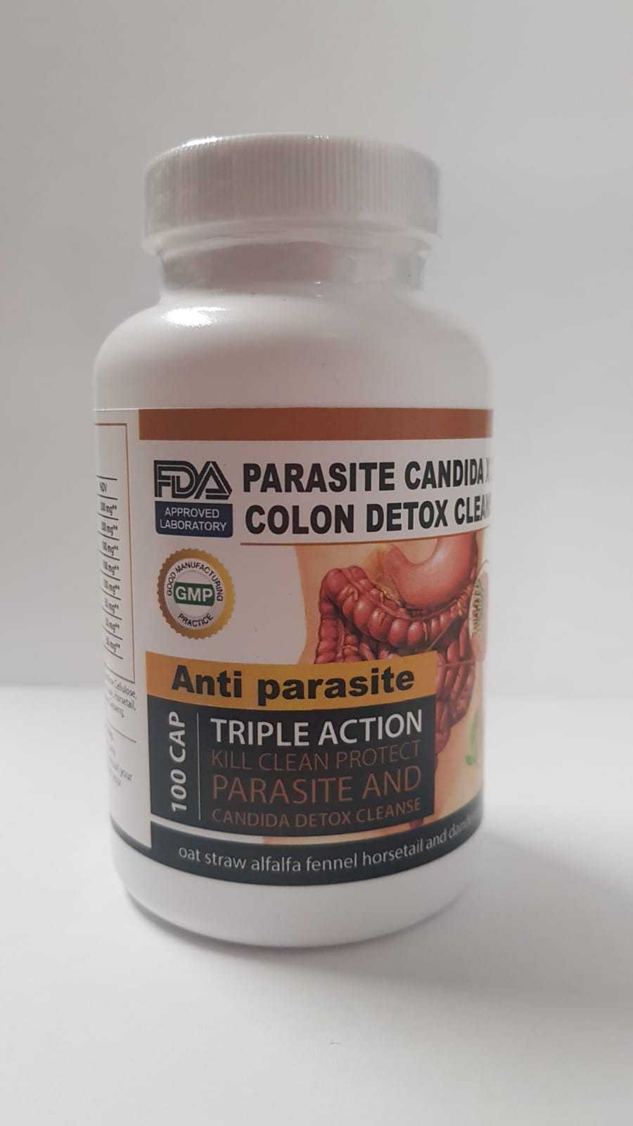 Parasite Cleanse DETOX Liver Colon Yeast Killer Pills All Natural detox candida 2