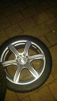 2 bsa rims 17*7jj with pirelli re7 225 625 17 inch race slicks Wilberforce Hawkesbury Area Preview