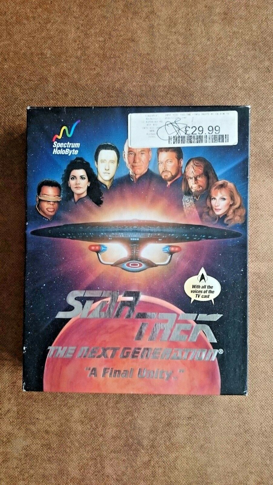 Star Trek Next Generation A Final Unity PC Game Big Box Edition