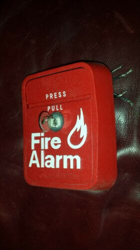 Notifier LNG-1R Fire alarm pull station KEY included