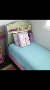 Twin dollhouse Sleigh bed