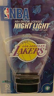 NBA LED Night Light, Los Angeles Lakers, NEW