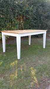 Hampton style dining table Griffin Pine Rivers Area Preview