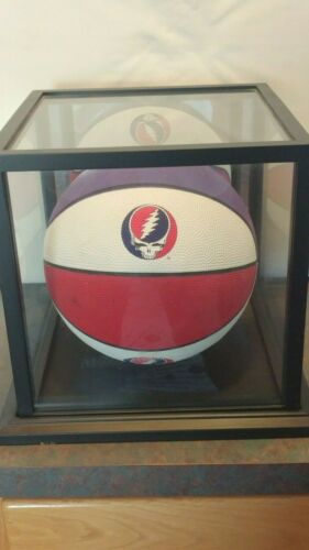 Limited Edition Grateful Dead Basketball With Wood/Glass Display Case