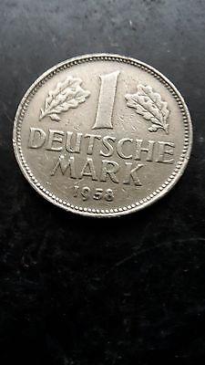 1 DM 1958 G RARITÄT - SELTEN