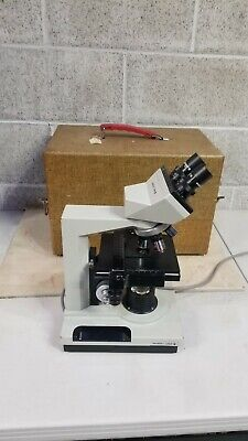 Bausch Lomb Galen Ii Binocular Microscope Works Great Wcase