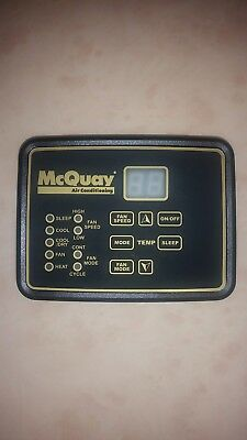 Mcquay Daikin Nonprogrammable User Interface Oem 668003501
