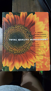 Total Quality Management textbook Herston Brisbane North East Preview