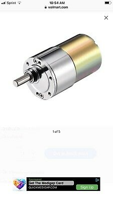 Sale. Dc 24v 2rpm Micro Gear Box Motor Speed Reduction Gearbox