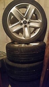 Ford fusion Sport summer Rims with Tires 225/45R18