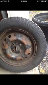 Cooper studded snow tires