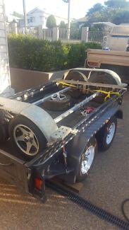 Tandem axle trailer setup Cooroibah Noosa Area Preview