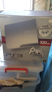 PS3 console and controllers - perfect condition! Bald Hills Brisbane North East Preview