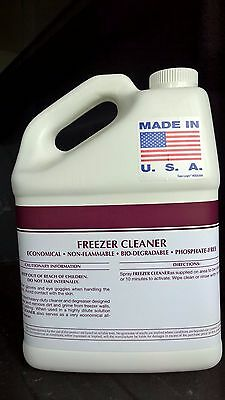 Freezer Cleaner Degreaser 1 Gallon Patriot Chemical Sales Refrigerators Walkin