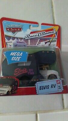2009 ELVIS RV Deluxe Mega Size DISNEY PIXAR CARS NEW #8480 Mattel