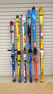 Telemark Cross Country Skis Steel Edge Cable Bindings Palmerston Gungahlin Area Preview