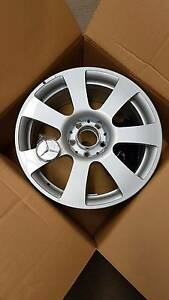 "Genuine Mercedes 7 Spoke 17x8"" Wheels - 1 PC. Woodridge Logan Area Preview"