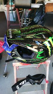 Wanted: Motorbike helmet monster energy