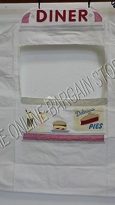 Pottery Barn Kids Retro Diner Food Kitchen Store Front Pretend Play Stand Cover