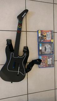 Guitar hero with guitar