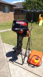 9.8HP Tohatsu Outboard Motor