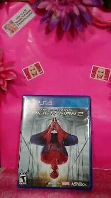 Sony PlayStation PS4 The Amazing Spider-Man 2 Game preowned & tested