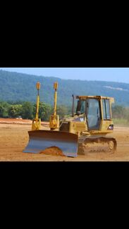 Gps Dozer hire and laser grading