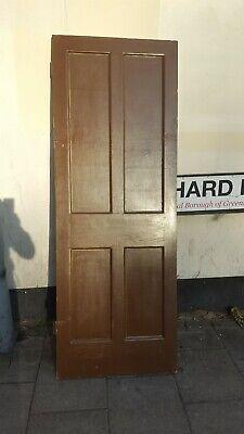 Internal victorian wooden door £15