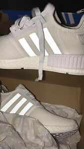Adidas NMD R1 Triple White (2017) size 7.5 Bellbird Park Ipswich City Preview